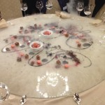 Dessert 'Extravagent' at Gala Dinner