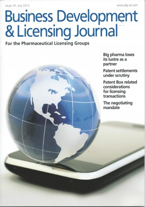 PLG Journal: Issue 19 – July 2013