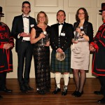 Awards Winners with Beefeaters