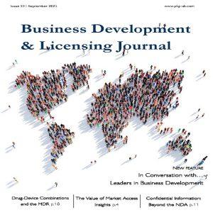 PLG Business Development & Licensing Journal – i